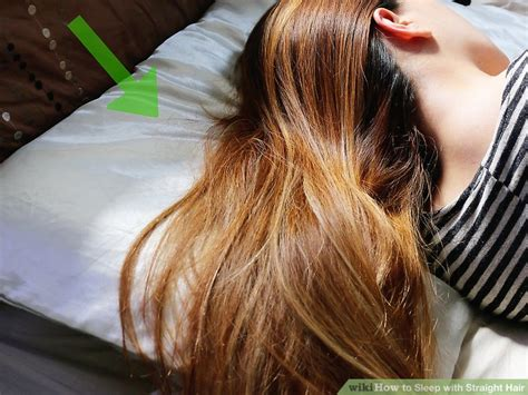 sleeping on short hair how to sleep with straight hair 8 steps with pictures