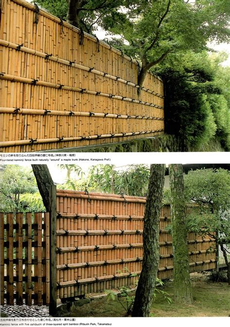 backyard bamboo fencing simple solid bamboo fence fences pinterest bamboo