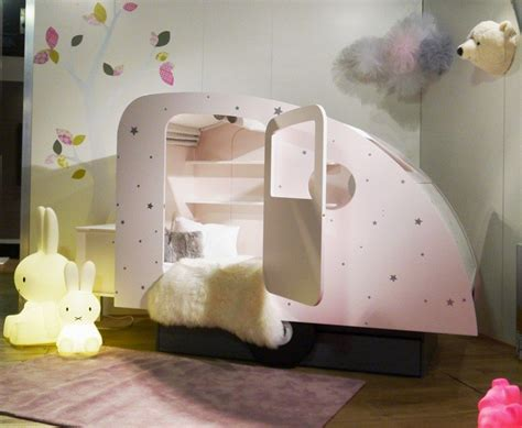 cute beds cute bed in shape of caravan caravan bed home building furniture and interior