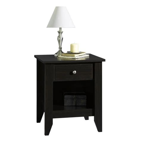 Sauder Shoal Creek Nightstand by Sauder Shoal Creek Jamocha Wood Nightstand At Lowes