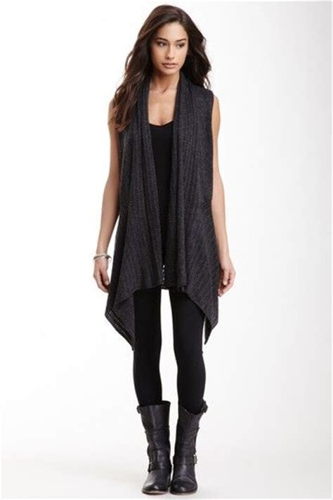 sleeveless draped cardigan 25 best ideas about sleeveless cardigan on pinterest