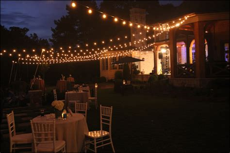 Custom Cafe String Lighting Bistro Lighting For Weddings String Cafe Lights