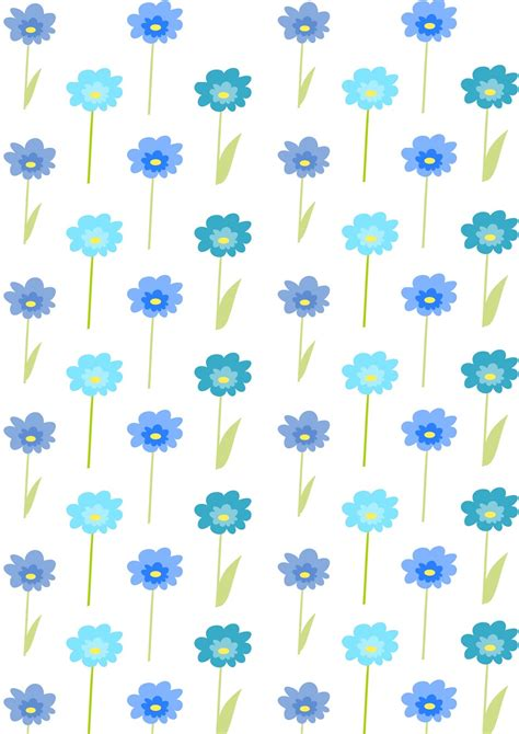 Printable Wrapping Paper Floral | free printable floral gift wrapping paper free