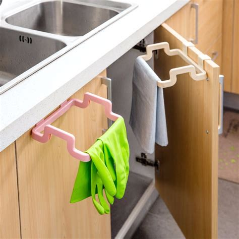 kitchen cabinet hanging rubbish bag holder garbage storage