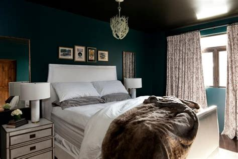 dark green paint bedroom add drama to your home with dark moody colors hgtv s