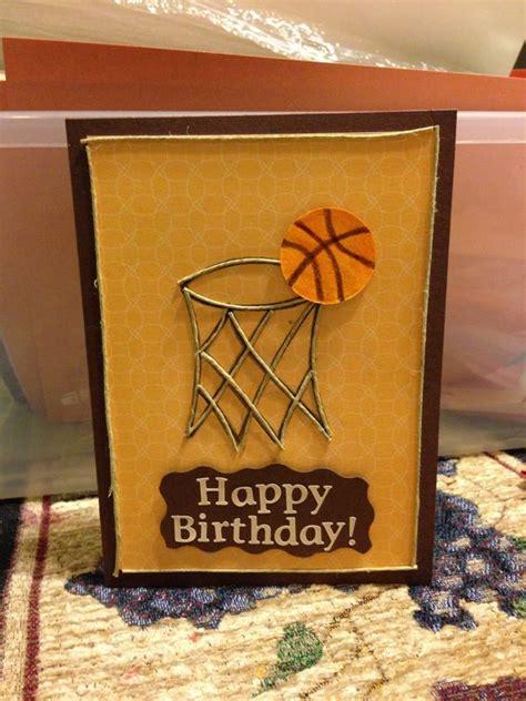 Basketball Birthday Card Birthday Cards Basketball Birthday And Basketball On