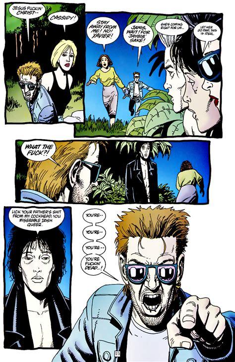 le cortan la cabeza top 14 los mejores momentos de preacher comicsvortex