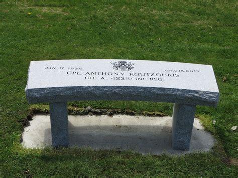 granite memorial benches maine our portfolio of granite memorial benches and monu benches