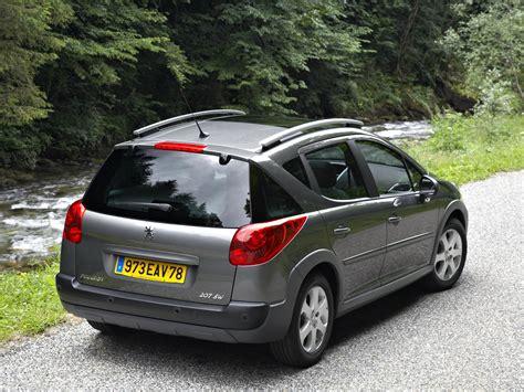 2008 peugeot cars peugeot 207 sw outdoor specs 2008 2009 2010 2011