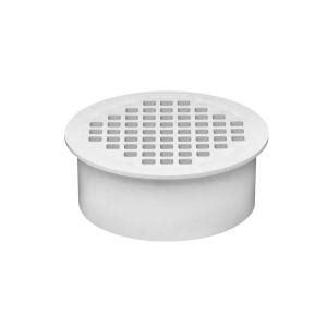 42722 4 pvc floor sink oatey 4 in pvc snap in floor drain with 4 1 2 in
