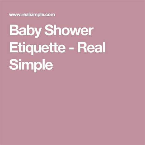 baby shower protocol 15 must see baby shower etiquette pins baby shower thank