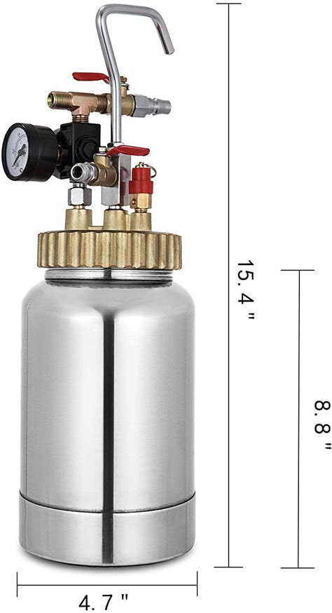 converting pressure pots resincasting