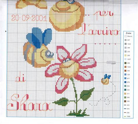 How To View Birth Records For Free A Birth Record 2 Free Cross Stitch Patterns Crochet