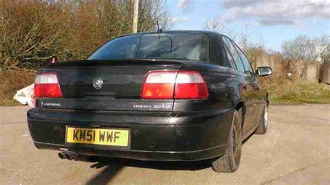 Vauxhall Omega Elite 2001 Vauxhall Omega Elite V6 Auto Black Spares Repair