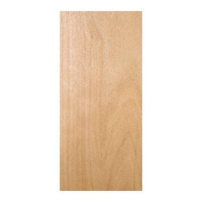 home depot wood doors interior jeld wen 28 in x 80 in woodgrain flush unfinished