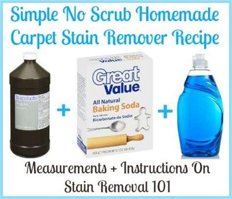 boat carpet cleaner homemade homemade carpet stain remover recipe simple no scrub