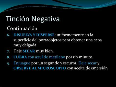 6 dialectica negativa la tinciones de capsula tincion negativa y tincion de hiss
