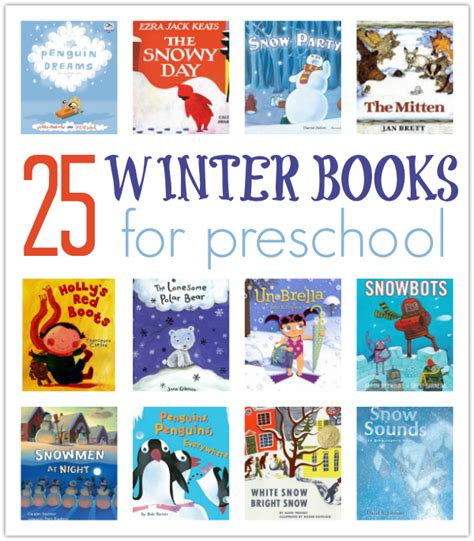 winter books 25 winter books for preschool no time for flash cards