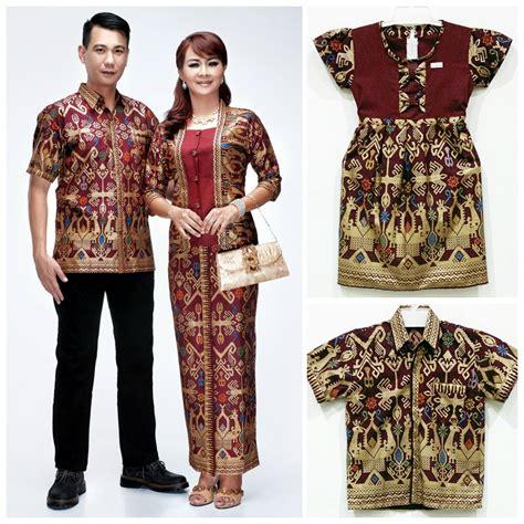 Baju Setelan Fl 8 St Nobi Batik Keluarga Batik
