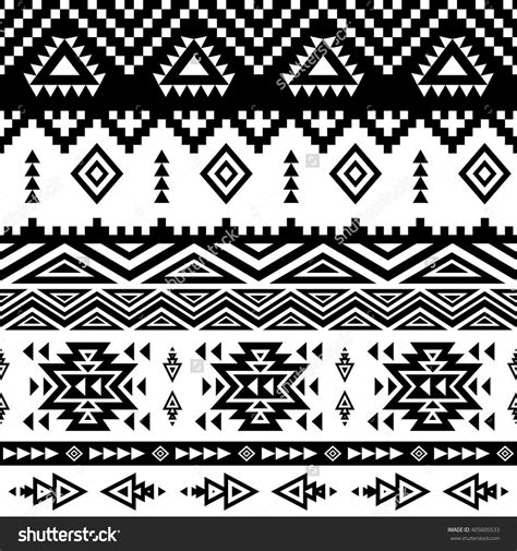 ethnic pattern background seamless ethnic pattern background with geometric aztec