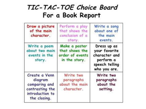tic tac toe book report the world s catalog of ideas