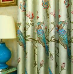 Peacock Blue Curtains Faux Linen Insulated Room Darkening Luxury And Decorative Peacock Blue Curtains