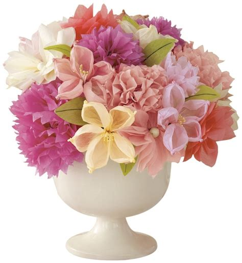 Martha Stewart Crafts Paper Flowers - paper flower centerpiece ideas mid south
