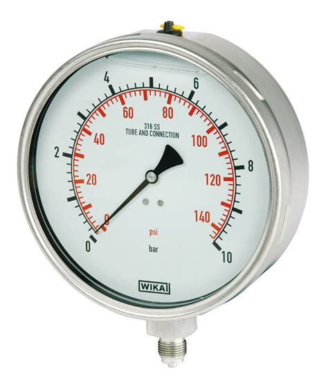 Pressure 0 10 Bar Pressure Gauges 2 Quot 4 Quot 6 Quot Faces 1 4 Quot 1 2 Quot 3 8 Quot M Thread 4