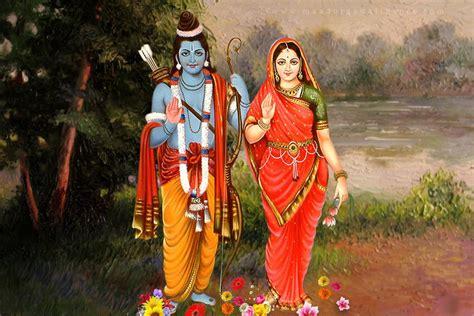 ram hindu god hindu god sita and ram desktop photos