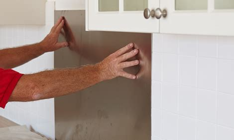bathroom wall panels bunnings how to install a stainless steel splashback bunnings