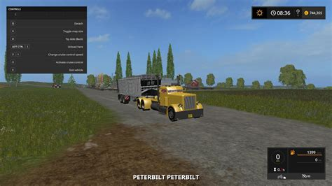 Handcrafted Ls - peterbilt custom v1 0 0 0 for ls 17 farming simulator