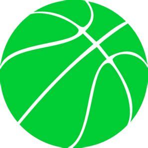 Basketball Player On Bench by Green Basketball Clip Art At Clker Com Vector Clip Art