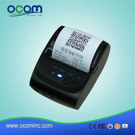 android bluetooth 58mm mini portable android bluetooth thermal printer