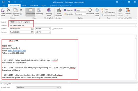 Add Outlook Calendar To Add Calendar Events To Leads In Eway Crm Outlook Crm