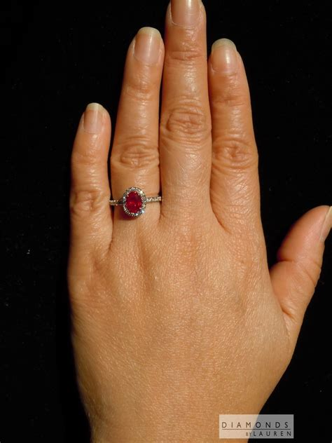 Ruby 7 15ct 1 15ct burma oval brilliant ruby