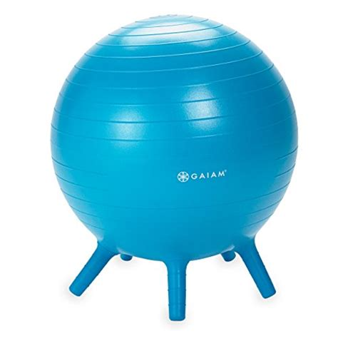 stability ball for desk gaiam kids stay n play children s inflatable balance ball