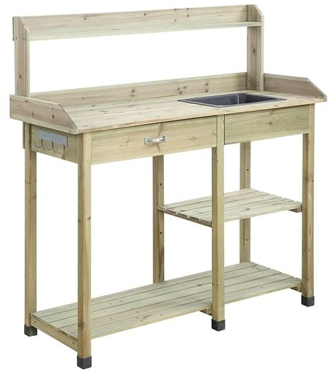 flower potting bench deluxe potting bench in potting tables