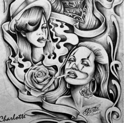 lowrider arte tattoos designs gallery for gt chola designs lowrider