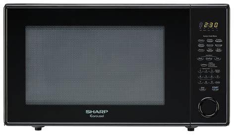Microwave Sharp R 222y r 659yk 2 2 cu ft black countertop microwave sharp