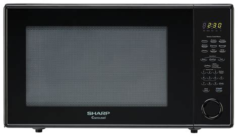 Microwave Sharp R 668r r 659yk 2 2 cu ft black countertop microwave sharp