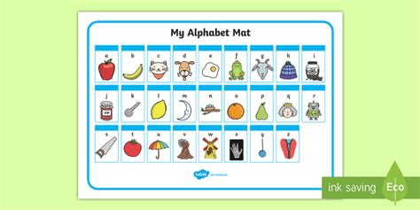 phase 2 letters and sounds mat a z alphabet mat phase 1 alphabet mat dfes letters