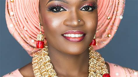bridal gele on the you tube how to tie the nigerian bridal gele youtube