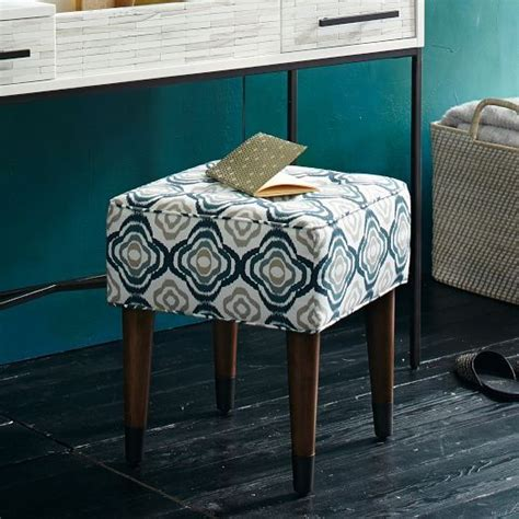 extra seating small living room small footstool under glass table ideal for vanities or extra bedroom seating this compact