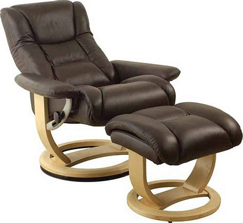 Leather Recliner Swivel Chair Massage Leisure Recliner Swivel Reclining Chair