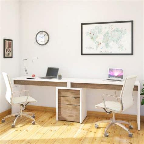 nexera two person desk best 25 two person desk ideas on 2 person