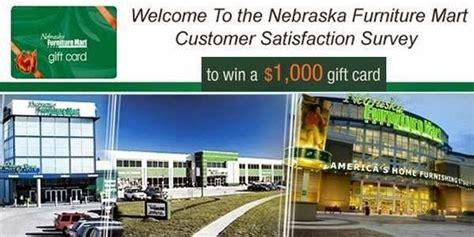 Nebraska Furniture Mart Customer Service by Nebraska Furniture Mart Customer Satisfaction Survey