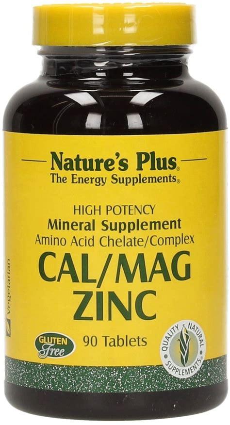 Nature S Plus Cal Mag Zinc 60s cal mag zinc 1000 500 75 mg nature s plus vitalabo