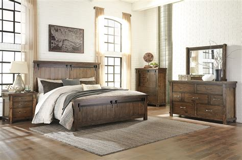 ashley bedrooms ashley lakeleigh collection b718 bedroom set