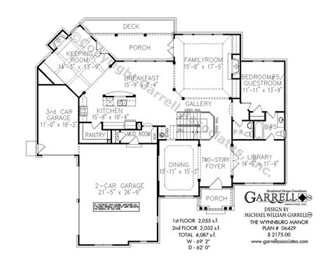 Manor House Plans wynnburg manor house plan house plans by garrell