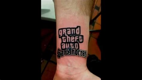 tattoo youtube 100 gta 5 graphic
